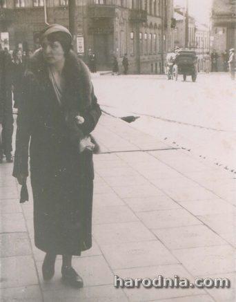 Магістрацкая плітка на куце вуліц Ажэшкі і Дамініканскай (Савецкай), 1930-я гг
