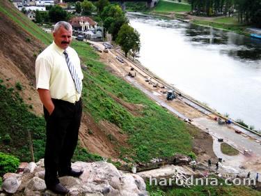 Вид на набережную с горы Старого замка. 18 августа 2005 г.