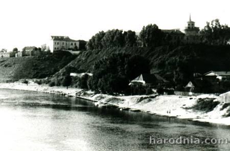 Гора Нового замка в Гродно. 60-е г.г.