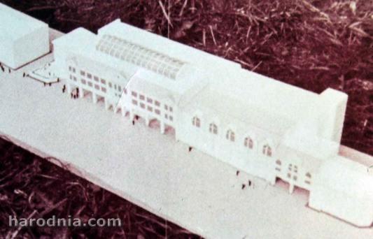 Гродна. Праект 1988 года. Забудова, якая закрывае ўнівермаг
